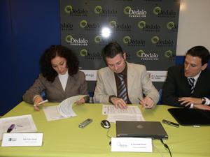 DÉDALO Y ESPLAI firman un acuerdo de colaboración