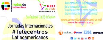 Jornadas Internacionales Telecentros Latinoamericanos