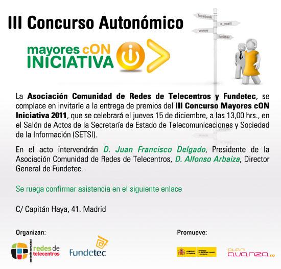 Invitacion Mayores cON Iniciativa