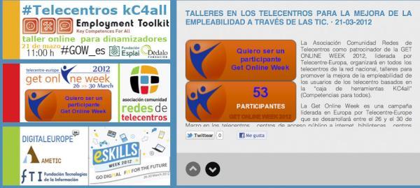 "Get Online Week ""Talleres Empleabilidad"""