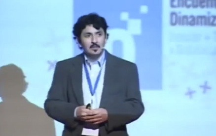 Miguel Raimilla en el Encuentro de Dinamizadores