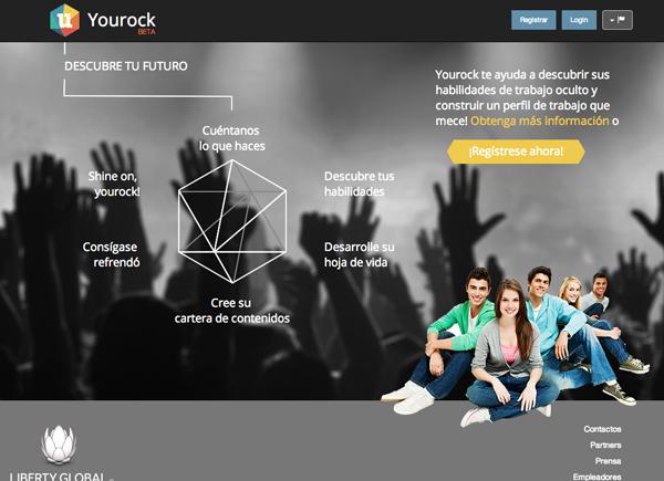 YouRock red social laboral para jóvenes