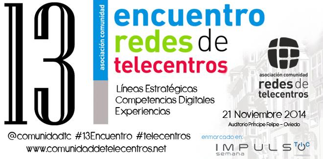 13 Encuentro Redes de Telecentros