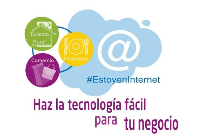 Programa #EstoyenInternet: Aprende a usar las TIC en tu negocio
