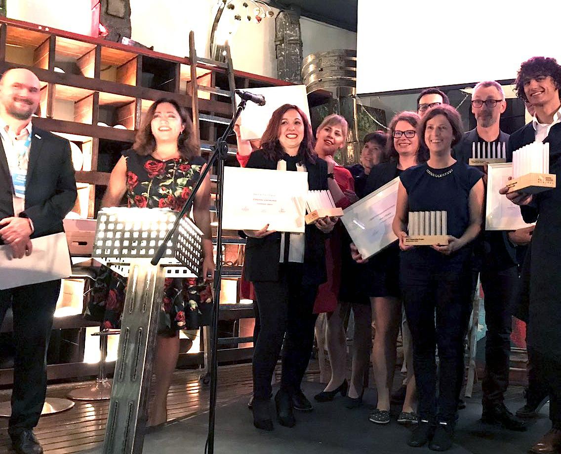 """Dolores Carmona, técnico del PAT, galardonada como """"Mejor dinamizadora digital de Europa"""" en el  X Encuentro All Digital"""