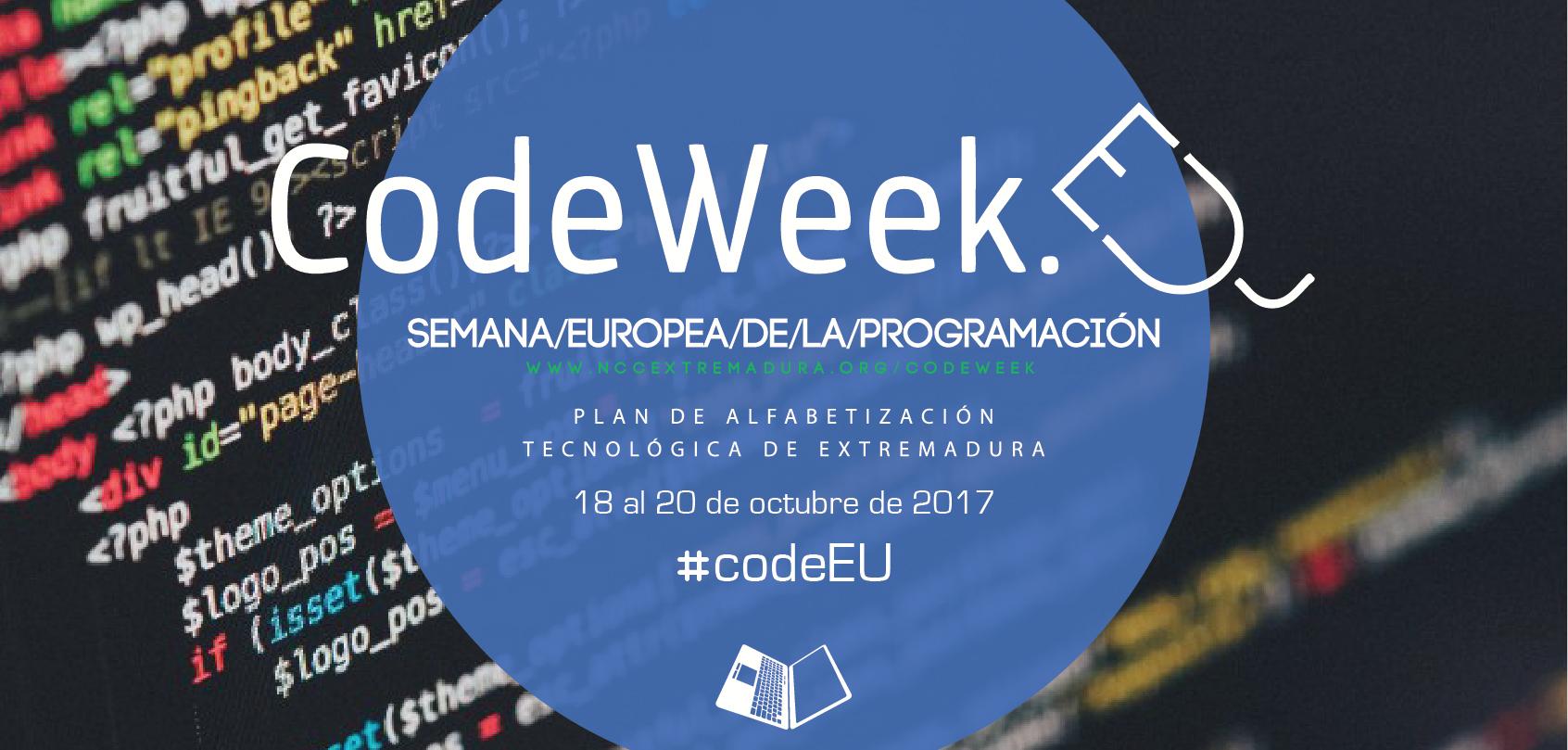 El Plan de Alfabetización Tecnológica se suma a la celebración de la Semana europea de la programación