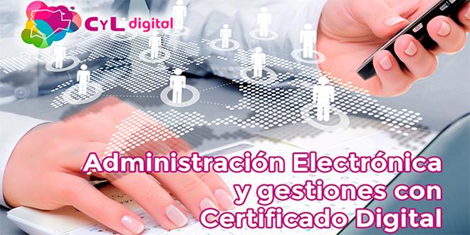 Administración Electrónica y gestiones con Certificado Digital