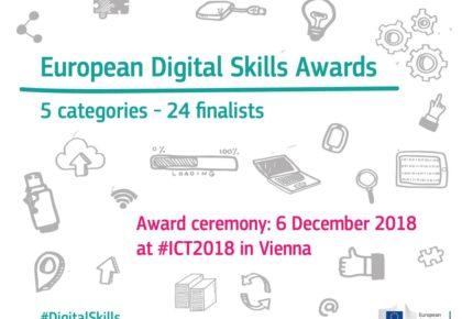 CyL Digital, de la Asociación Comunidad de Telecentros, finalista en los European Digital Skills Awards 2018 con su certificación de competencias digitales