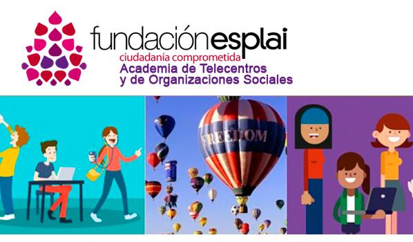Propuestas formativas para las personas dinamizadoras de Telecentros, Espacios TIC y Organizaciones Sociales