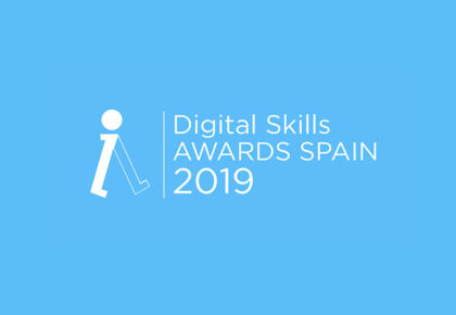Lanzamiento 'DIGITAL SKILLS AWARDS SPAIN 2019'