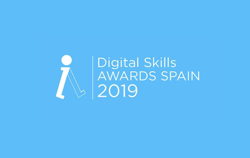 Lanzamiento 'DIGITAL SKILLS AWARDS SPAIN 2019'