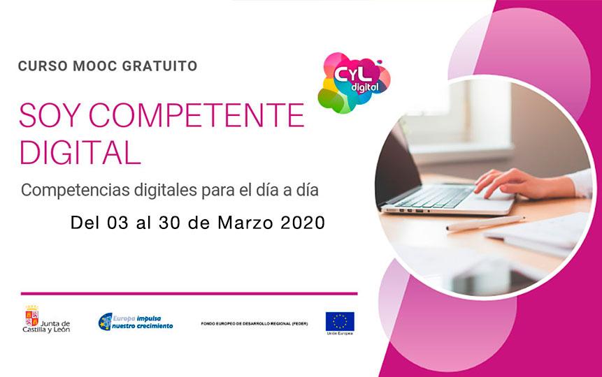 MOOC Soy Competente Digital. Competencias digitales para el día a día