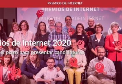 AUPEX presenta sus candidaturas para los premios Día de Internet