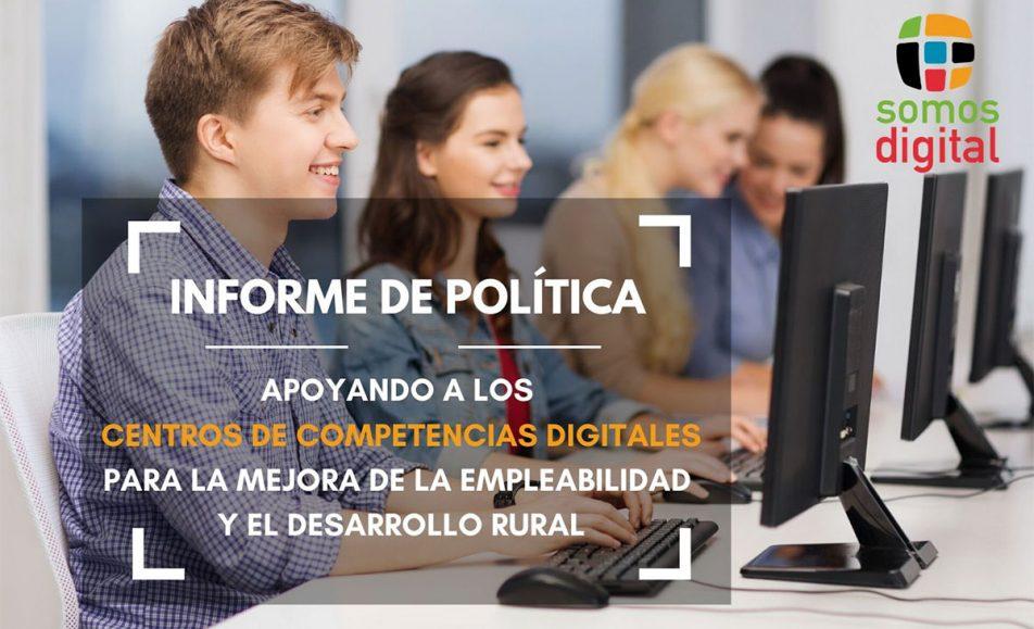 Informe para la puesta en valor de los Centros de Competencias Digitales tras la situación de crisis COVID-19.