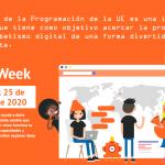 Dédalo participa en la Semana Europea de Código 2020