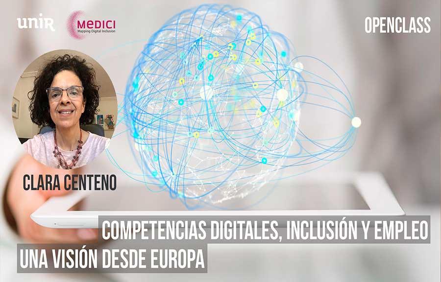 Competencias digitales, inclusión y empleo. Una visión desde Europa